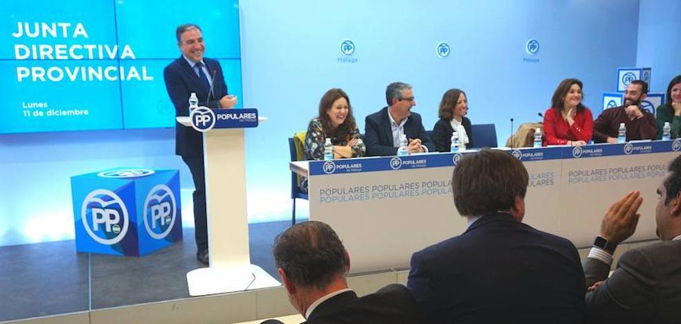El PP empezará a mediados de enero la designación de candidatos a las municipales de 2019