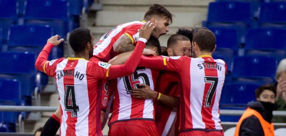 El Girona enciende las alarmas del Espanyol