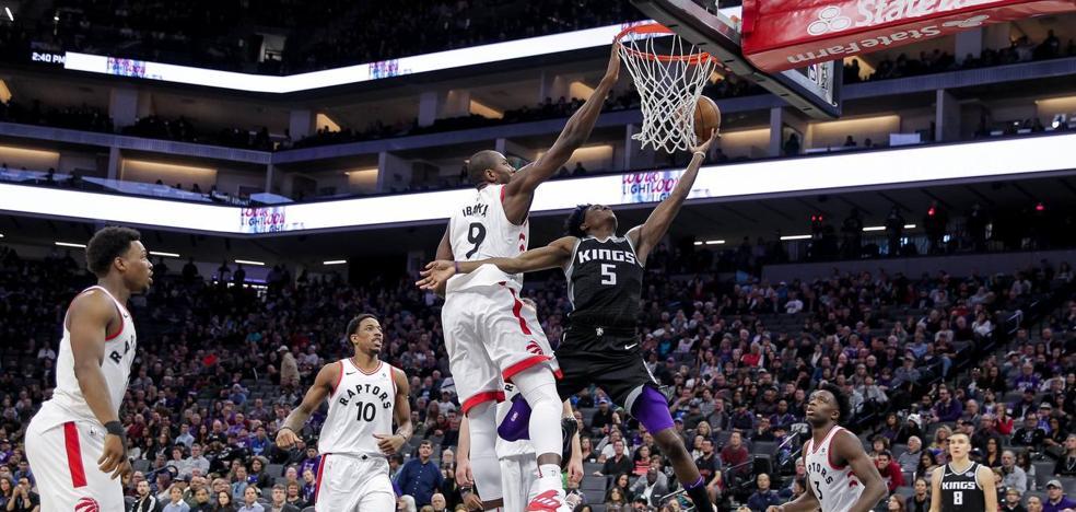 DeRozan e Ibaka dan a los Raptors la sexta victoria consecutiva