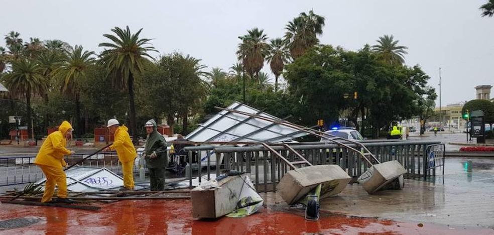Meteorología prevé más frío y la vuelta de las lluvias el viernes en Málaga