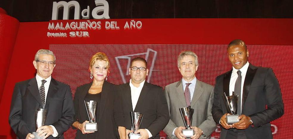Relación histórica de galardonados con los Premios Malagueños del Año de SUR