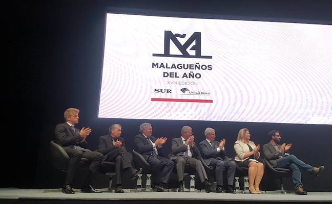 Suplemento especial de los Premios Malagueños del Año 2017, el domingo con SUR