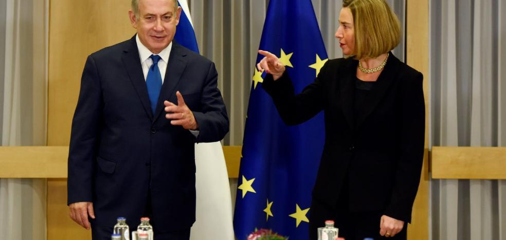 Portazo de la UE a Israel sobre Jerusalén