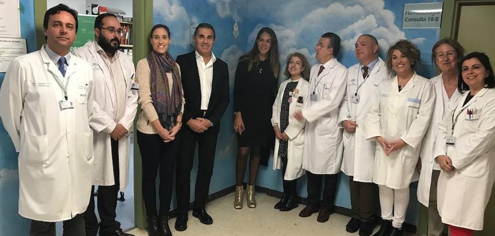 El Materno y la Fundación Cesare Scariolo redecoran las consultas de hematología para niños con cáncer