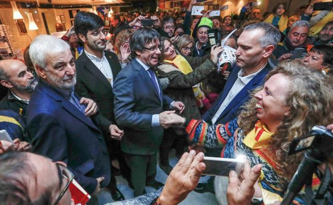 Puigdemont regresará si gana las elecciones para ser investido presidente de la Generalitat
