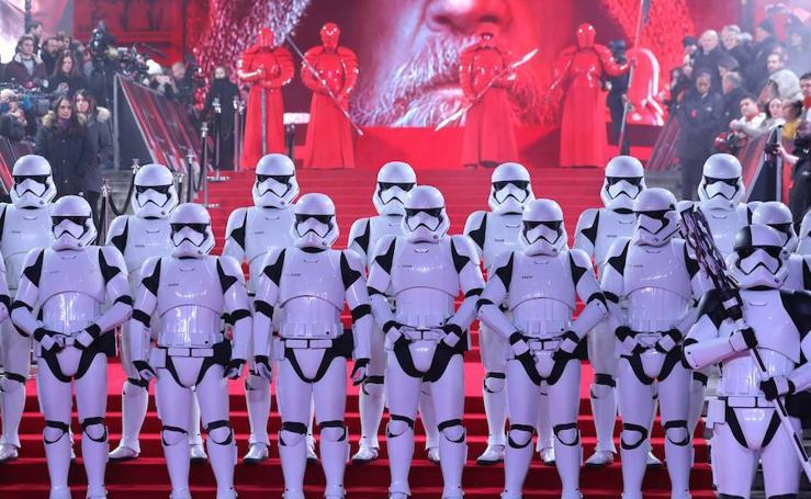 Así han sido los espectaculares preestrenos de 'Star Wars' en todo el mundo