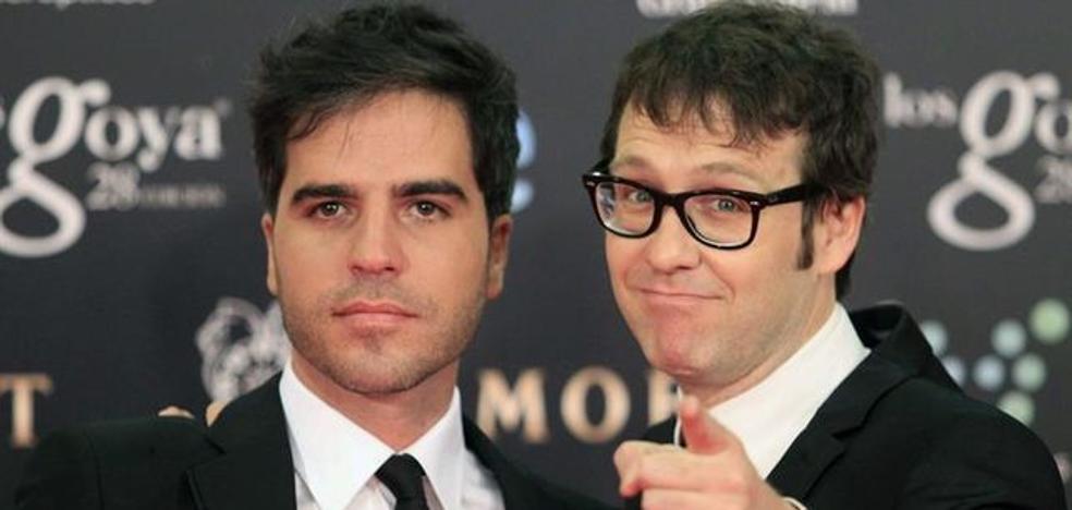 Ernesto Sevilla y Joaquín Reyes, presentadores de los premios Goya 2018
