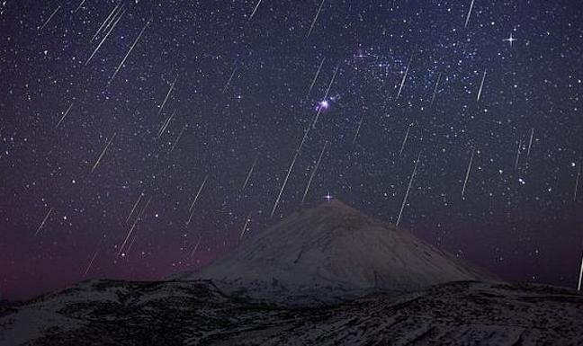 Cómo ver Las Gemínidas, la última lluvia de estrellas del año que tendrá lugar esta noche