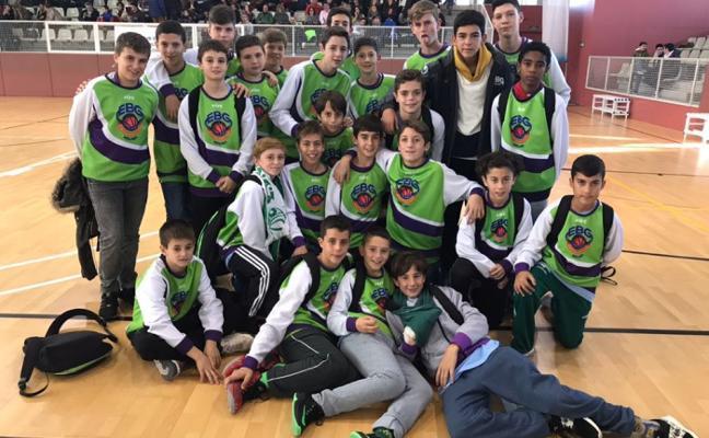 Buen papel de la EBG en el Torneo Ciutat de Sabadell