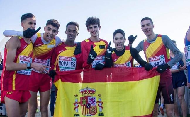 El júnior nerjeño Ouassim Oumaiz se proclama campeón de Europa de cross por equipos