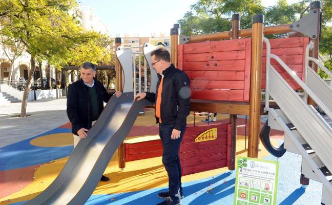 Más de 40.000 euros para la mejora de tres parques infantiles
