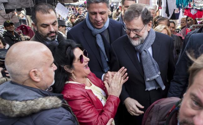 Rajoy se vuelca en la campaña para amortiguar el batacazo electoral del PP