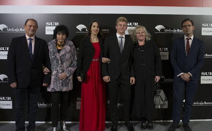 Todas las fotos de los invitados a gala de los Premios Malagueños del Año 2017