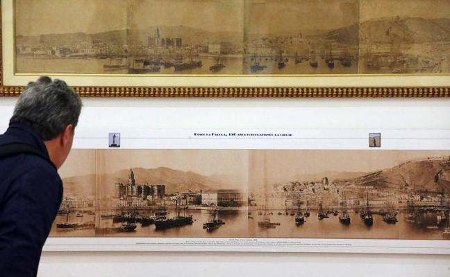 Las primeras fotos de Málaga descubren la revolución urbana de la ciudad en el siglo XIX