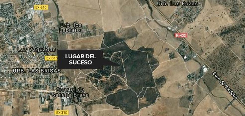 Un hombre recibe un disparo en el abdomen mientras hacía deporte en Badajoz