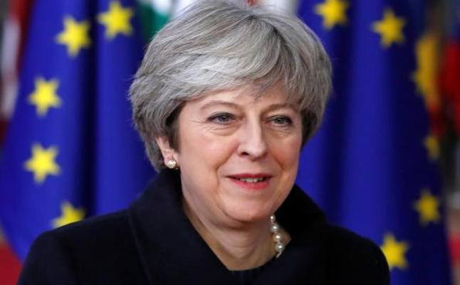 May, decepcionada con la decisión de Parlamento de someter a voto el 'Brexit'