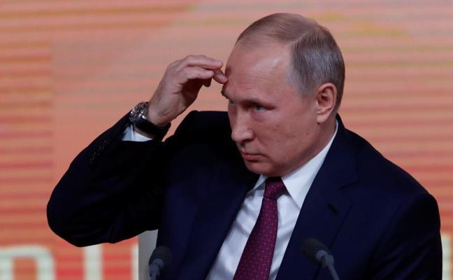 Putin irá como candidato independiente a las presidenciales de marzo