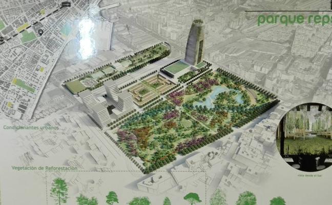 Los terrenos de Repsol albergarán un parque de 130.000 metros