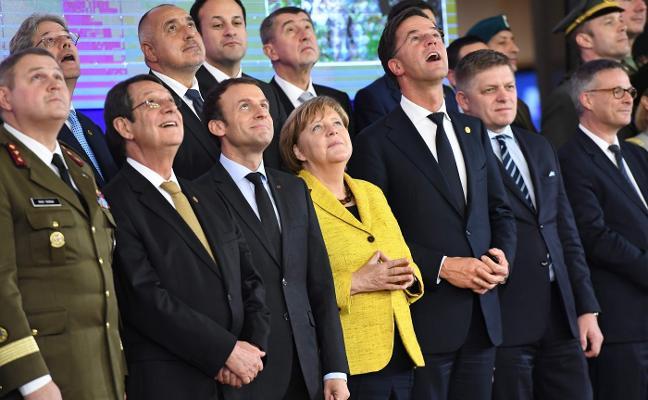 La UE muestra su unidad en la desunión