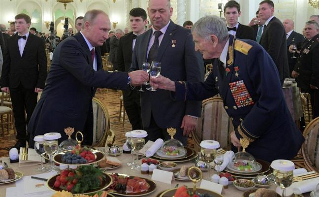 Putin descalifica a sus opositores por «radicales»