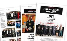 El suplemento especial de los Premios Malagueños del Año, este domingo con SUR