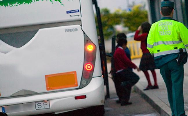 Inmovilizado un autobús escolar en Cuenca porque el conductor da positivo por cocaína