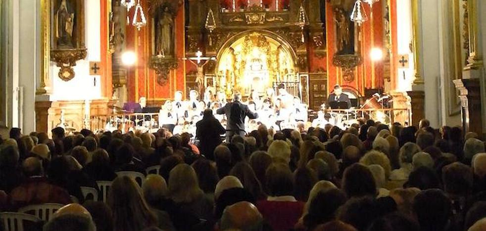 La banda municipal de música ofrece su concierto de Navidad este fin de semana