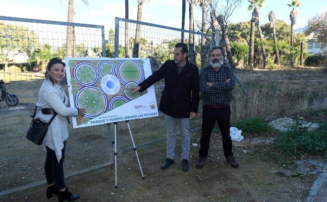 IU propone la construcción de un parque en una parcela municipal en Las Petunias