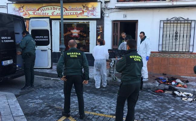 Una fallecida y dos heridos en el incendio de una casa en Nerja