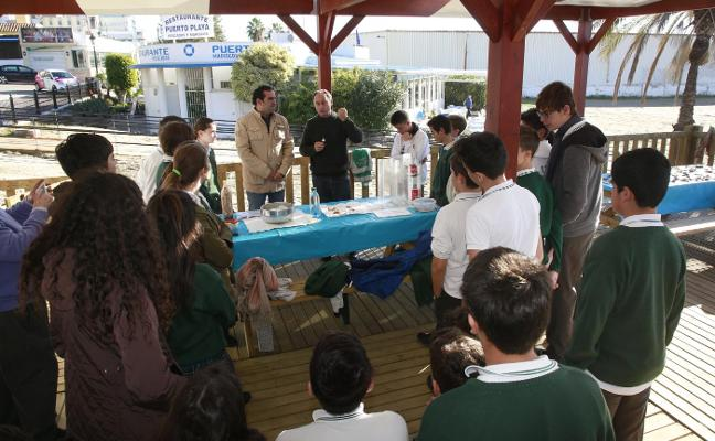 Más de mil escolares participan en la campaña Laboratorio Marino del Aula del Mar