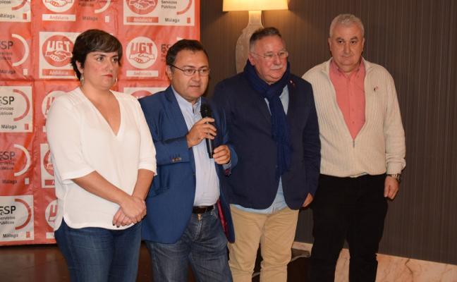 UGT RECONOCE LA LABOR DE MIGUEL ÁNGEL HEREDIA AL FRENTE DEL PSOE