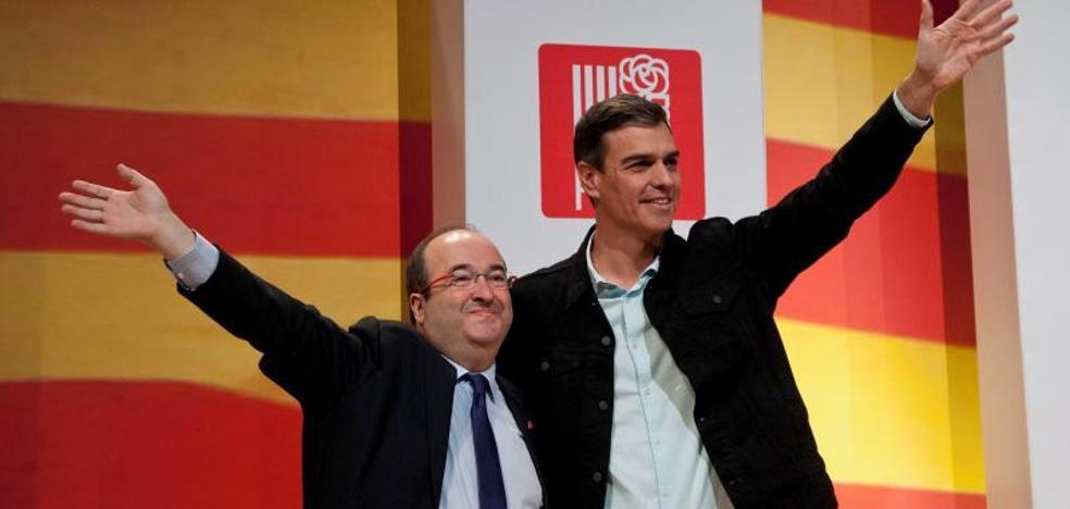 Sánchez defiende a Iceta como el candidato de la «reconciliación»