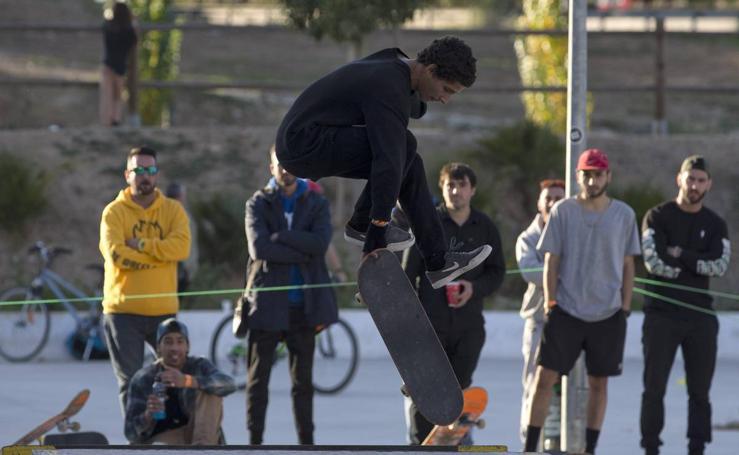 Los mejores skaters se citan en Málaga