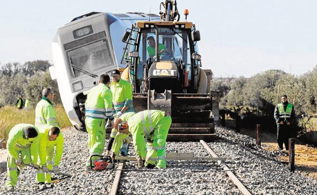 «No se puede achacar todo al temporal, el tren debió pararse o circular muy despacio»