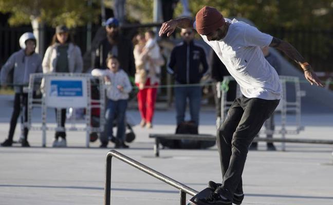 Gran nivel en el arranque del Nacional de skate en Málaga