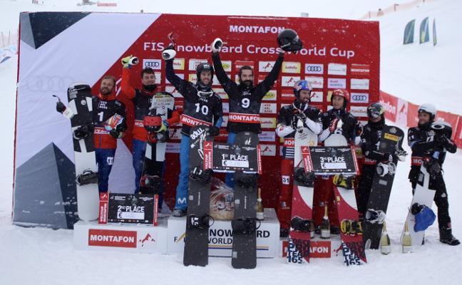 Regino Hernández gana en Austria la primera prueba de la Copa del Mundo por equipos