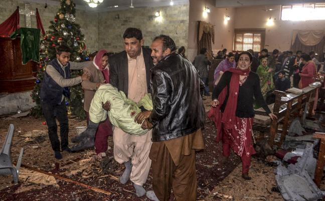 El yihadismo golpea a los cristianos en Pakistán