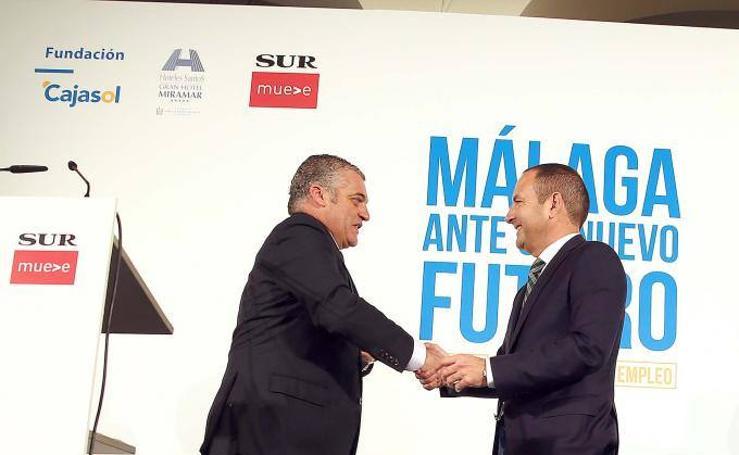 Fotos del foro 'Málaga ante un nuevo futuro'