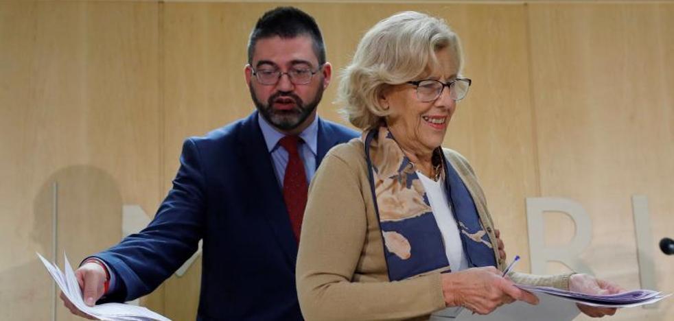 Hacienda aprueba el plan económico de Carmena, que provoca el cese de Sánchez Mato