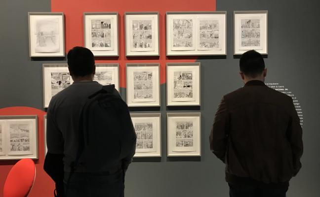 Una exposición en el Rectorado rinde homenaje al cómic español