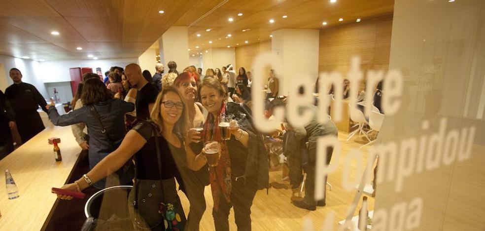 El Pompidou de Málaga cierra su cafetería y la convertirá en un taller didáctico