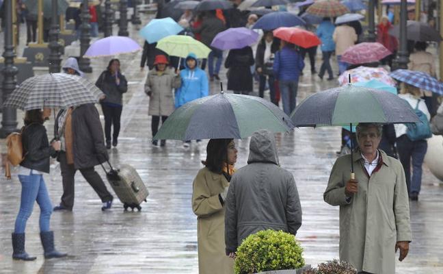 Aemet prevé lluvias débiles esta Navidad en Málaga por la entrada de varios frentes
