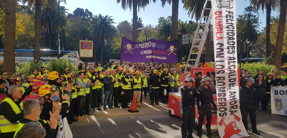 Limasa y el conflicto de los bomberos centran el último pleno del año del Ayuntamiento de Málaga
