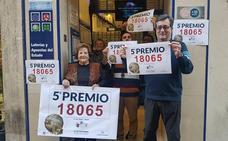 Los quintos premios reparten 114.000 euros en Málaga