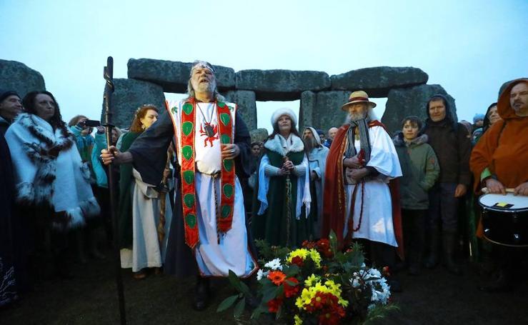 Así ha sido el solsticio de invierno en Stonehenge