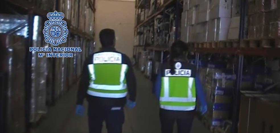 Retiran del mercado botellas de champán francés falso almacenadas en Málaga