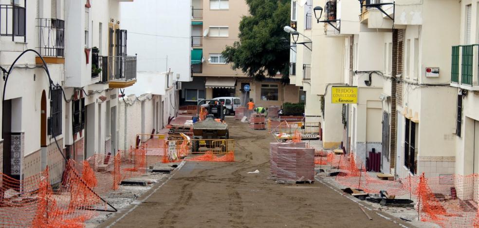 Las obras de remodelación del entorno de San José alcanzan su ecuador