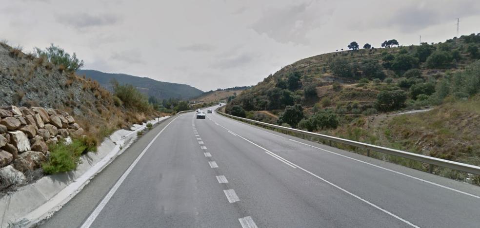Licitan por casi tres millones obras de mejora de la seguridad vial en la A-357, en el Valle del Guadalhorce