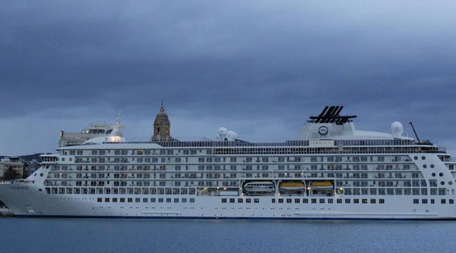 Así es el crucero de los millonarios que estará tres días en Málaga en abril