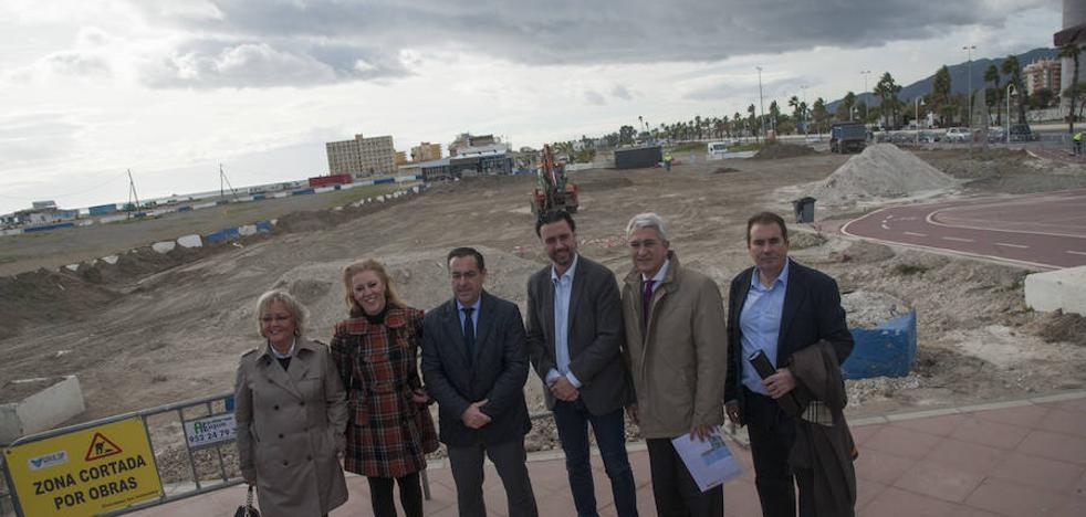 El Gobierno invierte medio millón de euros en urbanizar una parcela del paseo marítimo de Poniente